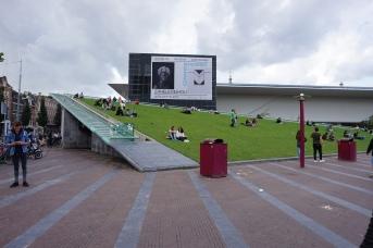 Stedelijk Museum rooftop lawn