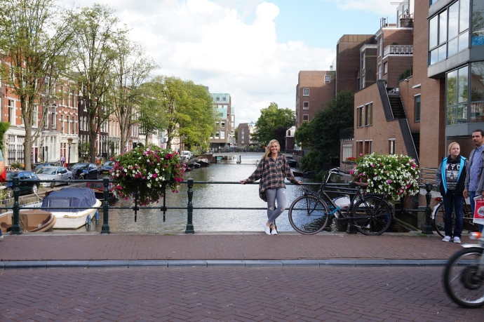 Enjoying these canals, a beautiful site on almost every street