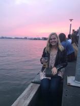 Sunset in Amsterdam Noord