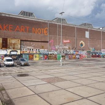 Art in the old shipyard