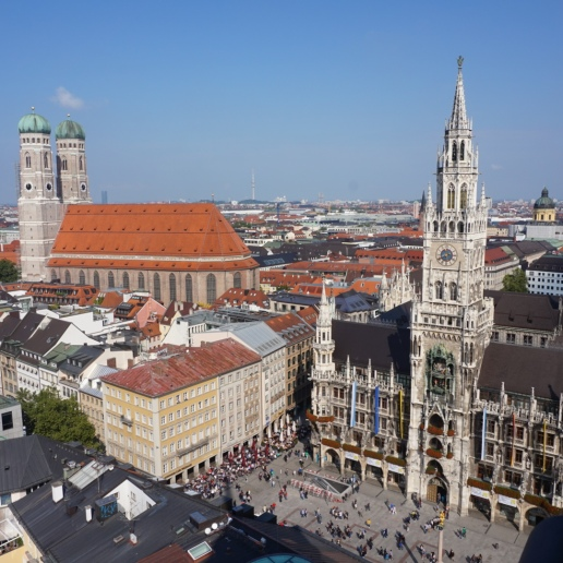 View of Glockenspiel
