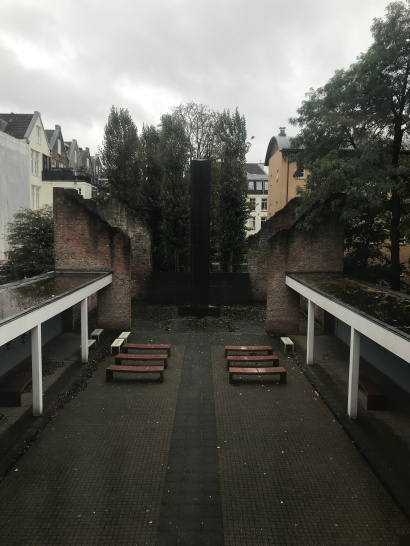 National Holocaust Memorial at former Jewish Theatre