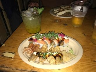 Nordic Sushi and mojito