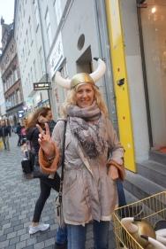 Mom channeling her inner viking