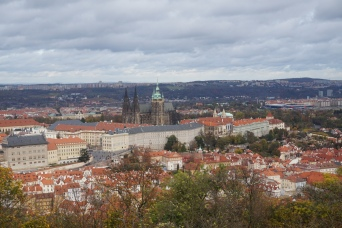 View from Petrin Tower of the Castle