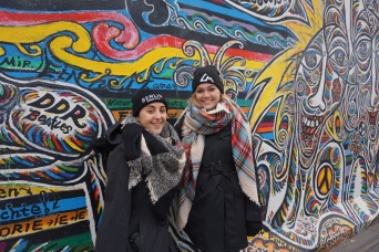 East Side Gallery at Berlin Wall