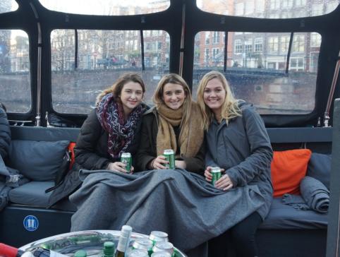 Boozy canal cruise